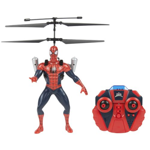 World Tech Toys Marvel Ultimate Spider-Man vs. The Sinister 6 Jetpack RC Helicopter