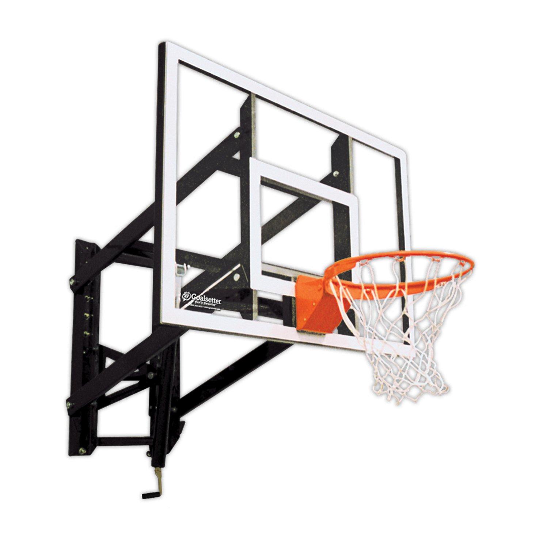 Goalsetter 54 in Wall Mounted Tempered-Glass Basketball Hoop | Academy