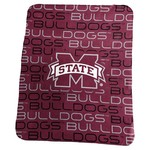 Logo Mississippi State University 50 in x 60 in Classic Fleece Blanket - view number 1