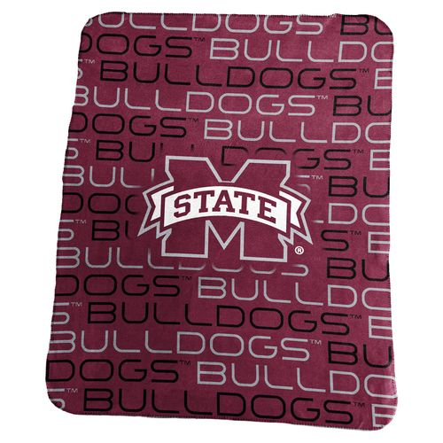Logo Mississippi State University 50 in x 60 in Classic Fleece Blanket