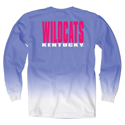 Blue 84 Women's University of Kentucky Ombré Long Sleeve Shirt