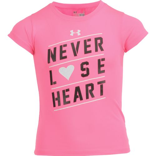 Under Armour Girls' Never Lose Heart T-shirt - view number 1