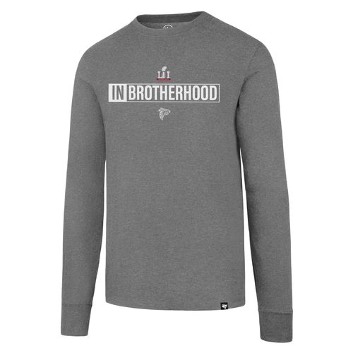 '47 Atlanta Falcons Super Bowl 51 Bound '16 In Brotherhood Long Sleeve Club T-shirt