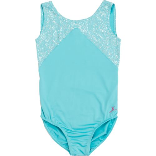 Capezio® Girls' Future Star Geo Shine Foil Tank Leotard