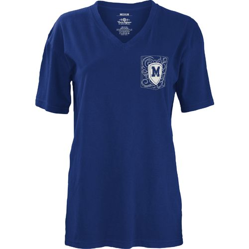 Three Squared Juniors' University of Memphis Anchor Flourish V-neck T-shirt - view number 2