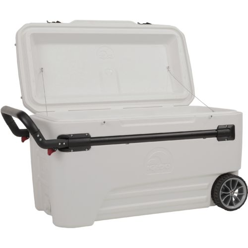 Igloo Glide™ 110-qt.  Marine Wheeled Cooler - view number 4