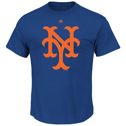 Majestic Men's New York Mets 1969 Cooperstown Collection Short Sleeve T-shirt