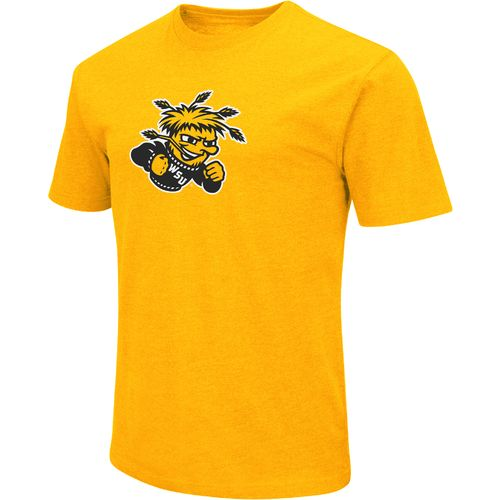 Colosseum Athletics Men's Wichita State University Logo Short Sleeve T-shirt