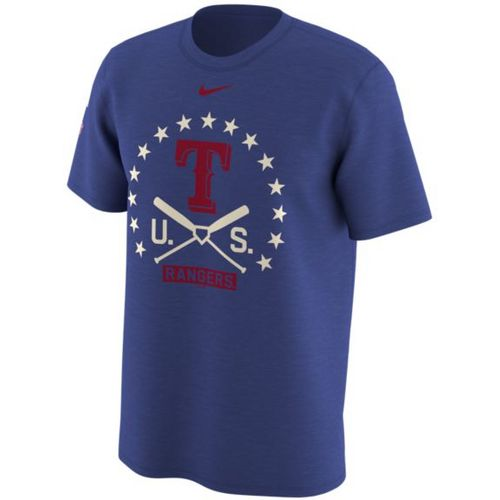 Nike Men's Texas Rangers Memorial Day 2017 Legend Logo T-shirt