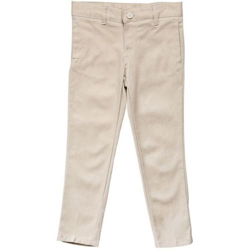 French Toast Girls' Plus Size Skinny Stretch Twill Pant