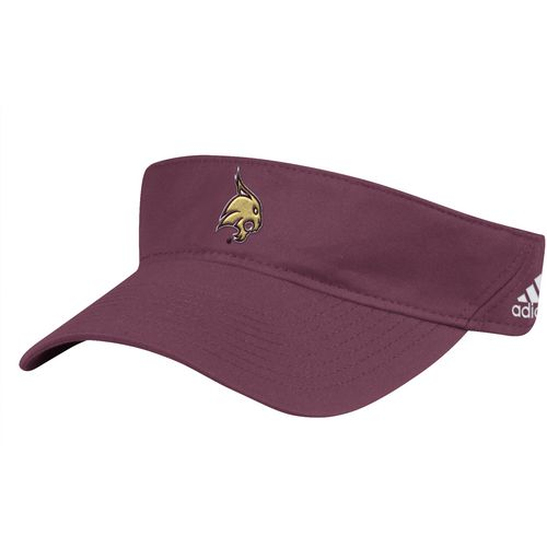 adidas Men's Texas State University Coach Adjustable Visor