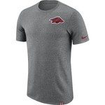 Nike Men's University of Arkansas Dry Marled Patch T-shirt - view number 1