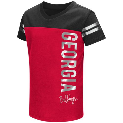 Colosseum Athletics Toddlers' University of Georgia Cricket T-shirt