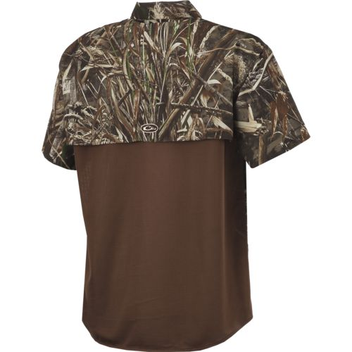 Drake Waterfowl Men's EST Vented Short Sleeve Dove Shirt - view number 2