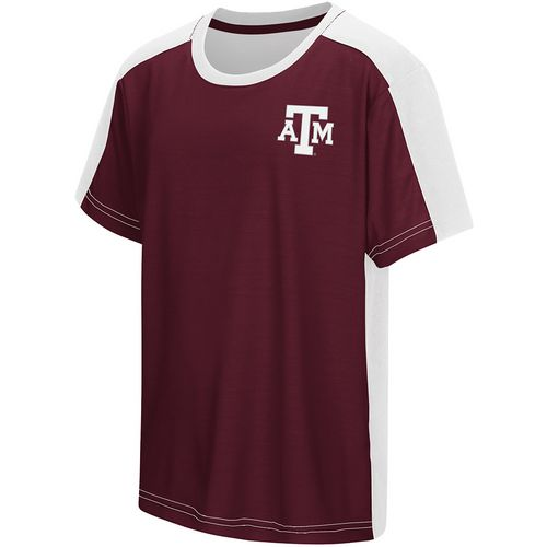 Colosseum Athletics Boys' Texas A&M University Short Sleeve T-shirt