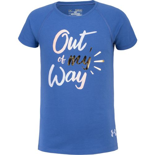 Under Armour Girls' Out of My Way Short Sleeve Training T-shirt