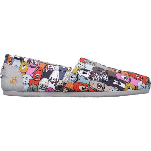 SKECHERS Women's Bobs Plush Wag Party Slip-On Shoes