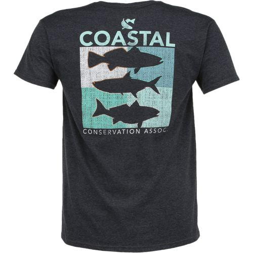 CCA Men's Coastal Box Short Sleeve T-shirt - view number 1