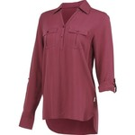 Magellan Outdoors Women's Adventure Gear Long Sleeve Henley Shirt - view number 1