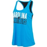 5th & Ocean Clothing Women's Carolina Panthers Glitter Tank Top - view number 3