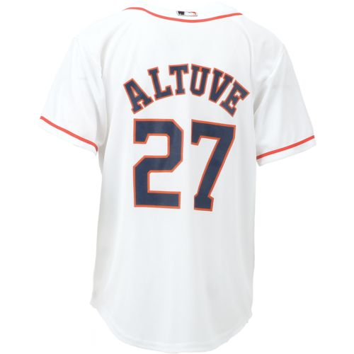 MLB Boys' Houston Astros COOL BASE Home Replica Jersey