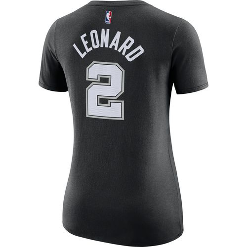 Nike Women's San Antonio Spurs Kawhi Leonard 2 Name and Number T-shirt