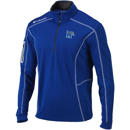 Columbia Sportswear Men's University of Memphis Shotgun 1/4 Zip Pullover
