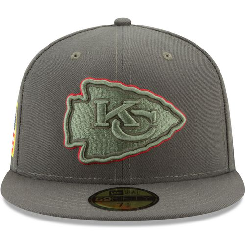 New Era Men's Kansas City Chiefs Salute to Service '17 59FIFTY Cap