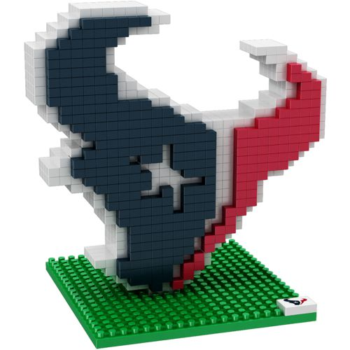 Forever Collectibles Houston Texans 3-D BRXLZ Logo Puzzle
