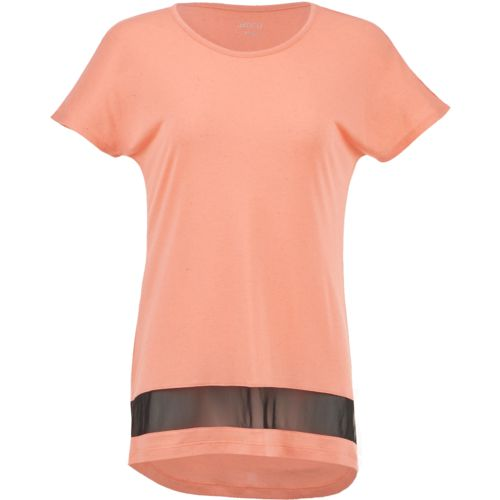 BCG Women's Lifestyle Power Mesh Shirt