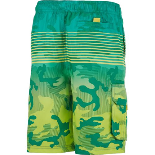 O'Rageous Boys' Gradient Camo Printed Boardshorts - view number 2