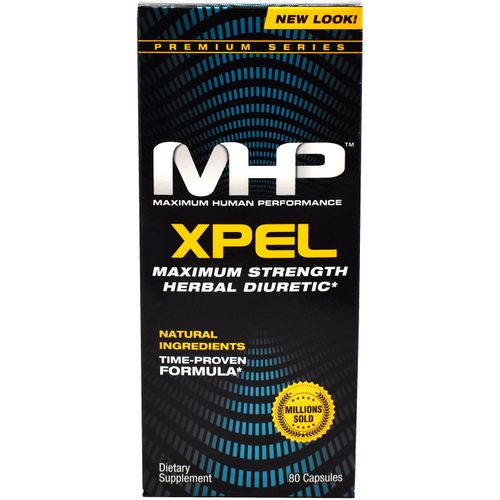 MHP Xpel Herbal Diuretic Dietary Supplement