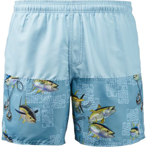 Guy Harvey Men's Equator Volley Swim Trunks