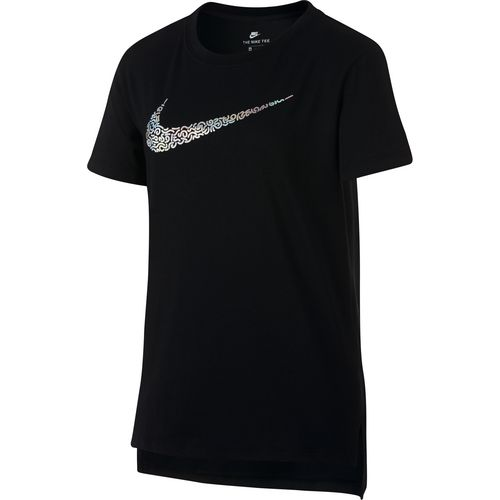 Nike Girls' Sportswear Short Sleeve T-shirt - view number 1