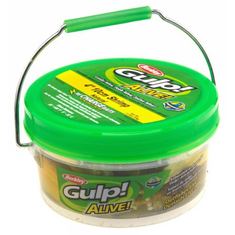 "Berkley® Gulp!® Alive!™ 4"" Shrimp Small Bucket"