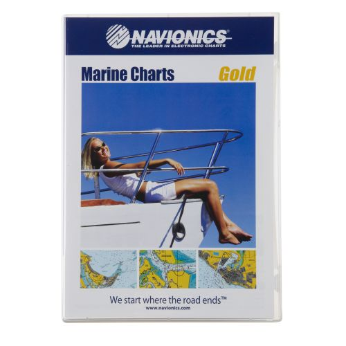 Image for Navionics Gold 1 Chart Map Software from Academy