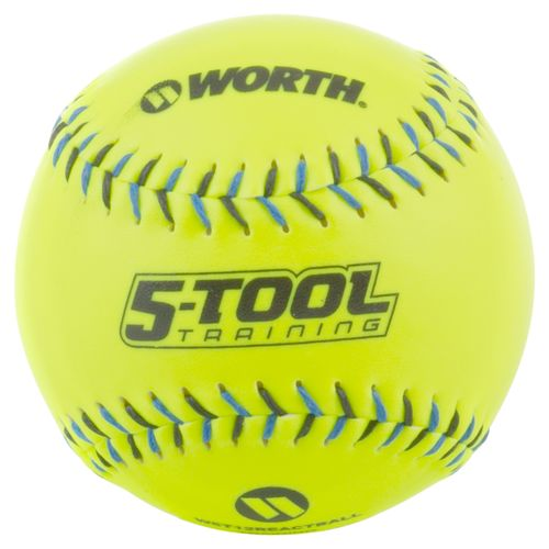 "Worth 12"" Fast-Pitch 5-Tool Training Softball"
