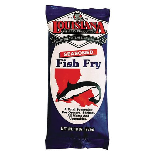 Academy louisiana fish fry products seasoned fish fry for How to season fish for frying