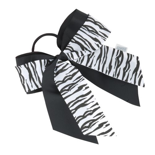 Soffe 2-Ribbon Large Bow Scrunch