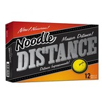 Noodle Distance Yellow Golf Balls 12-Pack