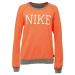 Nike Women's Rally Stripe Crew Neck Top