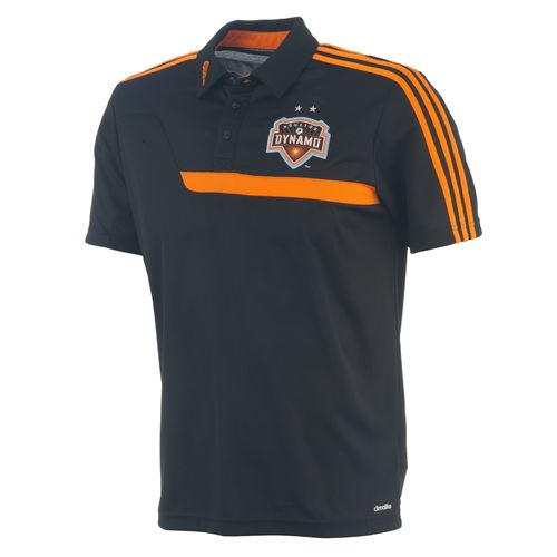 adidas Men s Houston Dynamo Clima Polo