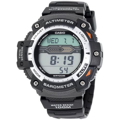 Display product reviews for Casio Men's Twin Sensor Altimeter/Barometer Watch