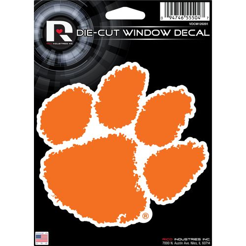 Tag Express Clemson University Die-Cut Decal