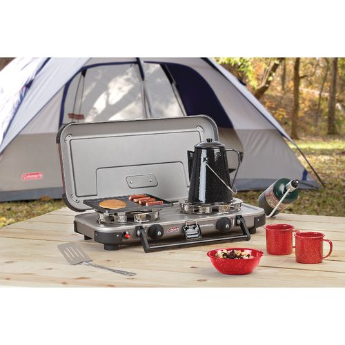 Coleman Series FyreChampion 3-in-1 2-Burner Propane Stove - view number 8