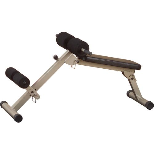 Body-Solid Best Fitness Ab Board Hyperextension Bench