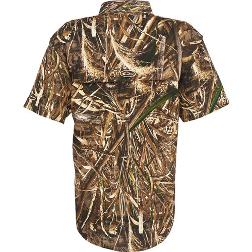 Drake Waterfowl Men's EST Vented Wingshooter's Short Sleeve Shirt - view number 2
