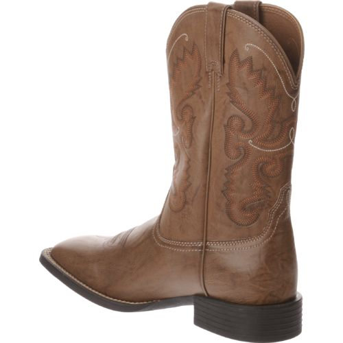 Justin Men's Wood Burnish Farm and Ranch Boots - view number 3