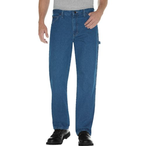 Dickies Men's Relaxed Fit Stonewashed Carpenter Jean