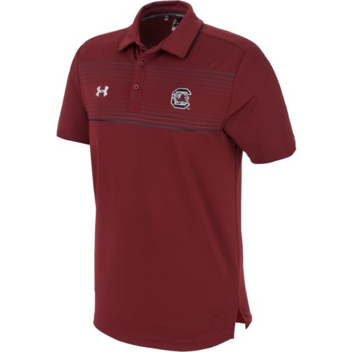Under Armour® Men's University of South Carolina Win It Staff Polo Shirt